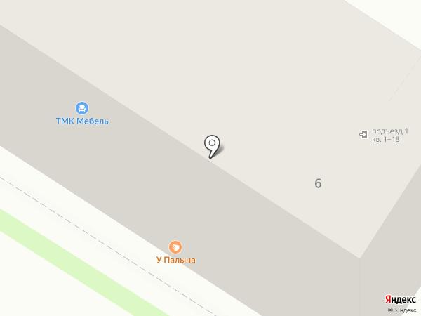 Магазин автоаккумуляторов на карте Тулы
