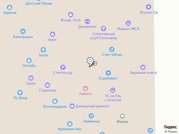 Lavgroup на карте Москвы