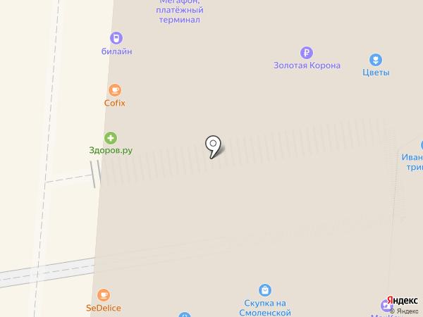 FOTODOKI на карте Москвы