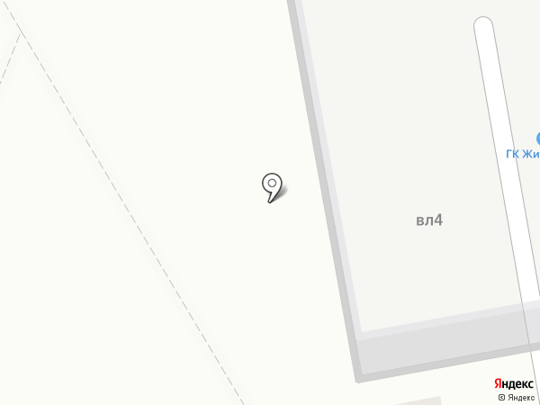 Жигуленок на карте Москвы