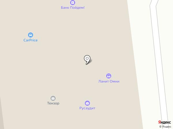 ИнДефенс на карте Москвы