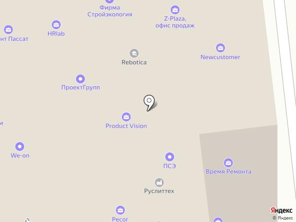 Форм на карте Москвы