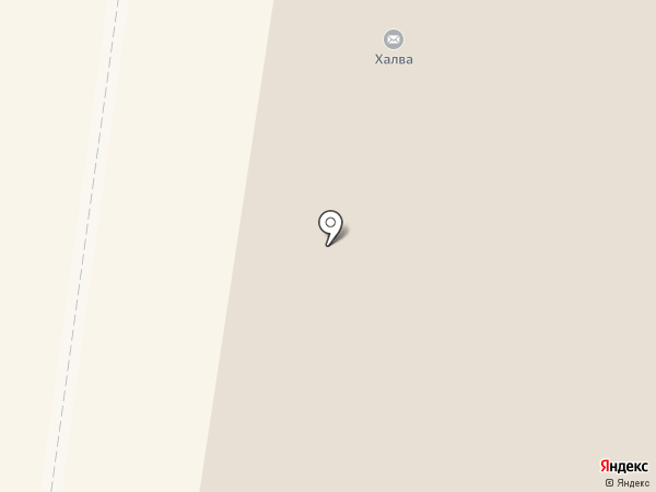 Магазин хлебобулочных изделий на карте Тулы