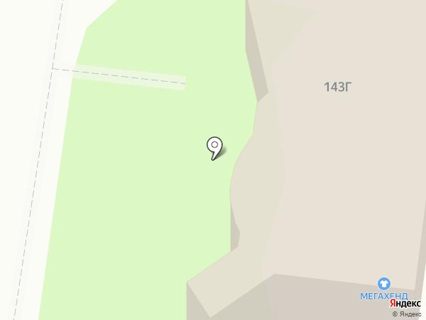 Леко на карте Тулы