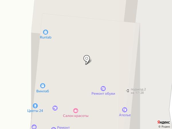Лаборатория бега на карте Москвы