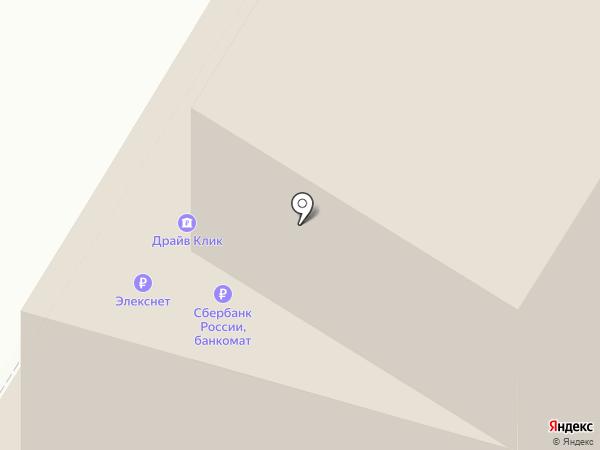 Элекснет на карте Москвы