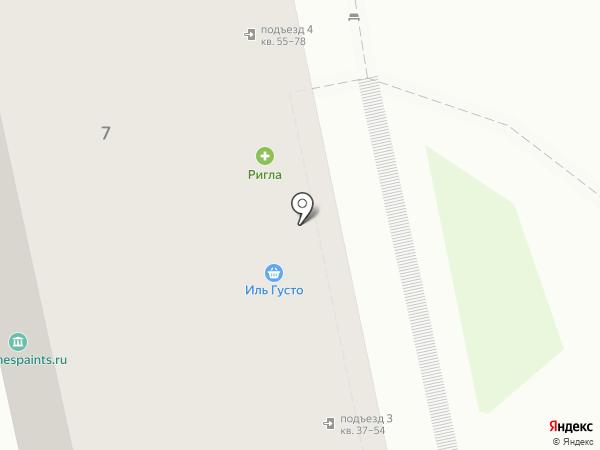 МАНХЭТТЕН на карте Москвы