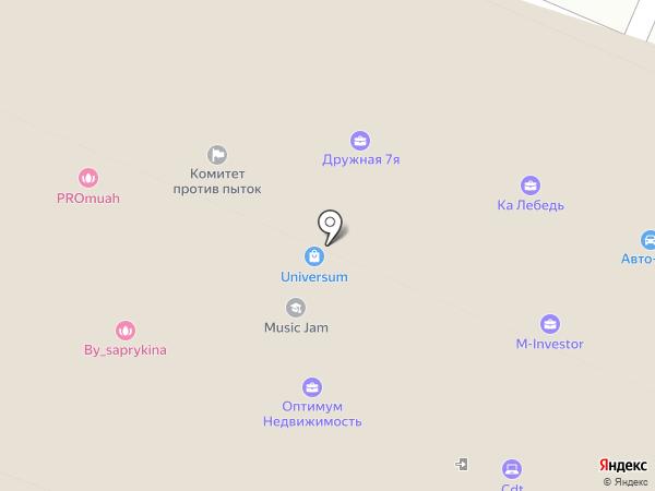 CDT на карте Москвы