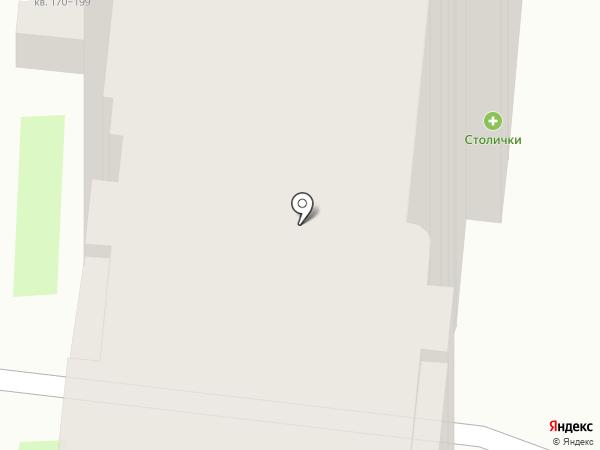 Столички на карте Тулы