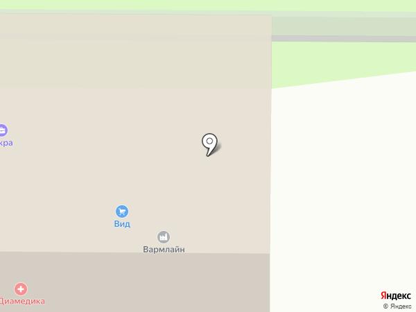 Vitfit на карте Москвы