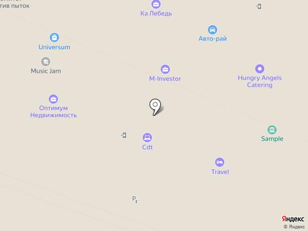 Московские Друзья на карте Москвы