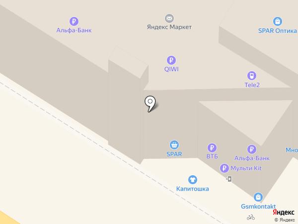 Кортеж-71 на карте Тулы