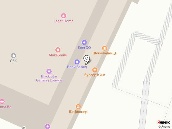 Банк ТГБ на карте Москвы