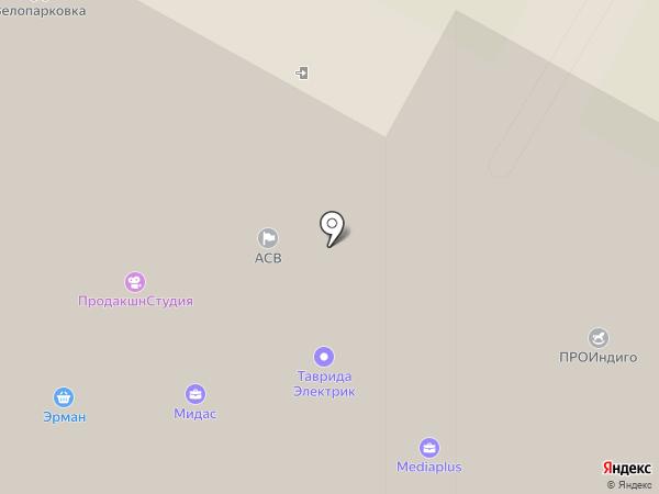 Ямское Плаза на карте Москвы