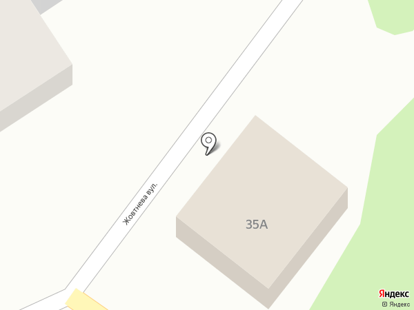 Шиномонтажная мастерская на карте Старомихайловки