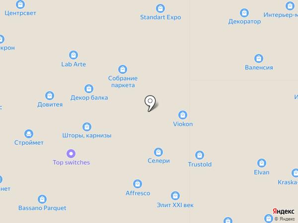 Нео-керамика на карте Москвы