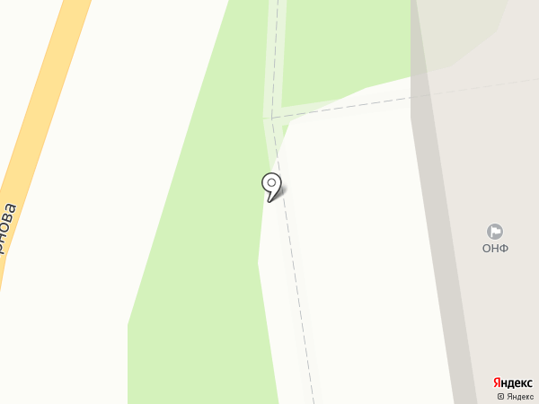 Общероссийский народный фронт на карте Тулы