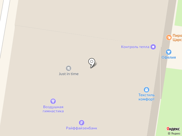 Ателье штор на карте Тулы