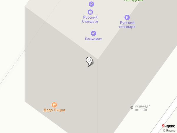 Волконский на карте Москвы