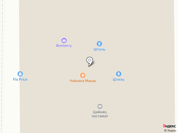 РУ-САД на карте Москвы