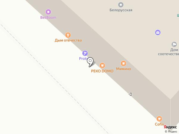 Bravo на карте Москвы