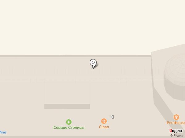 Курорт на карте Москвы