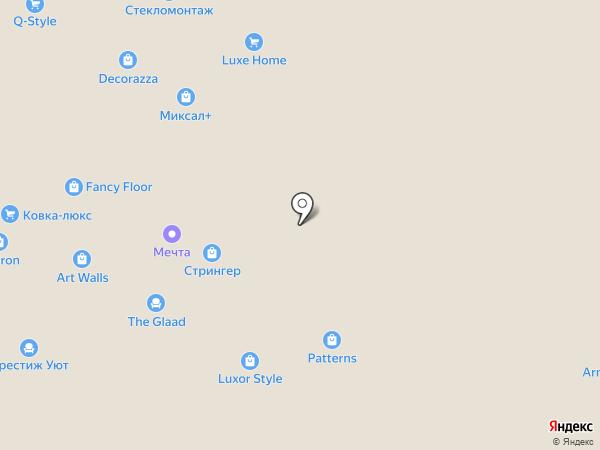 Герда на карте Москвы