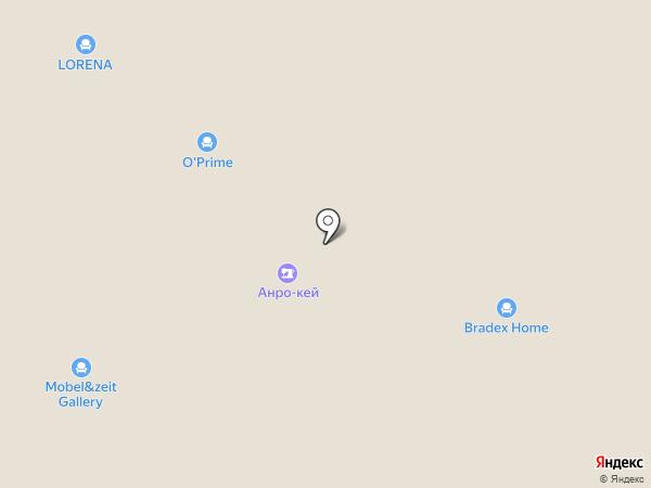 Мастер Гамбс на карте Москвы