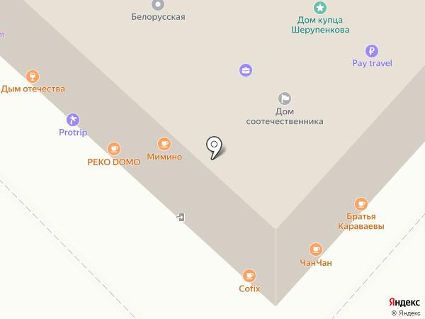 Максимум инфо на карте Москвы