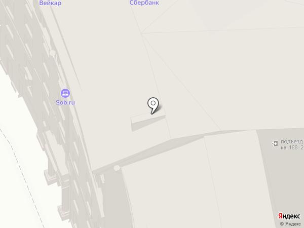 Поликлиника Федерации Независимых Профсоюзов России на карте Москвы