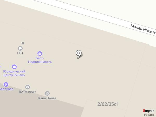 Неокем на карте Москвы