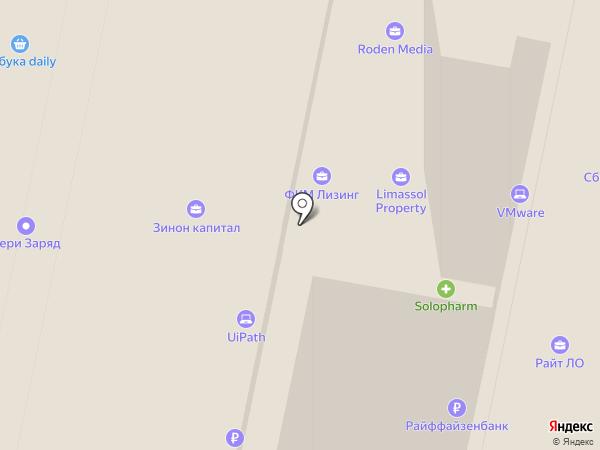 Booking.com на карте Москвы