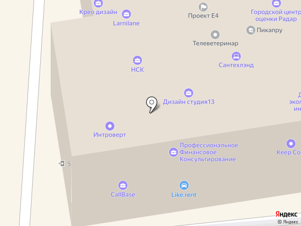 Like на карте Москвы