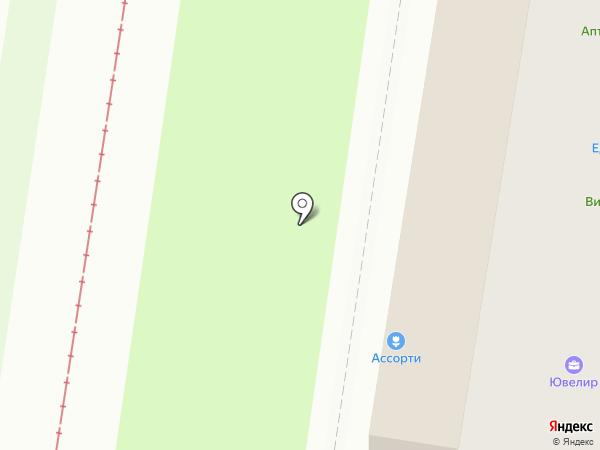 Ассорти на карте Тулы