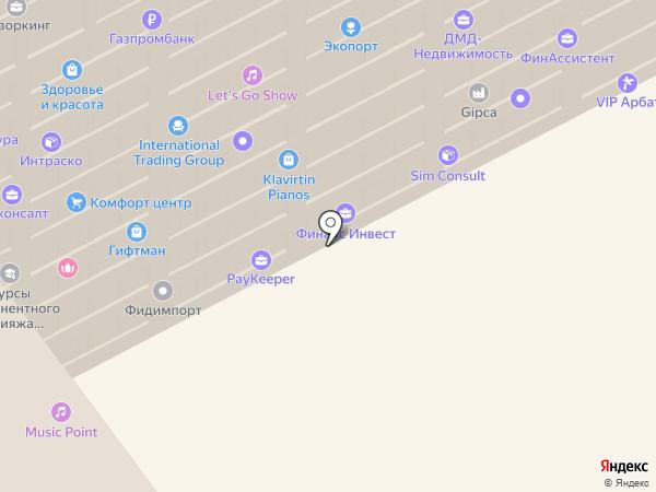 Business Kernel на карте Москвы