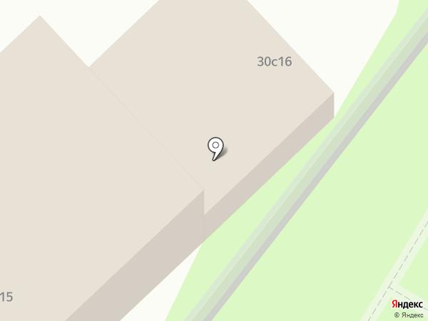 Стройэкспо на Фрунзенской на карте Москвы