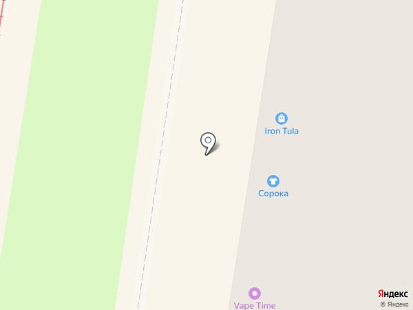 Рукодельница на карте Тулы