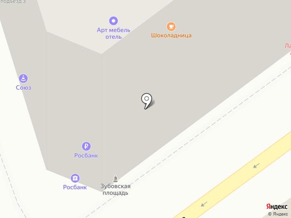 Росбанк, ПАО на карте Москвы