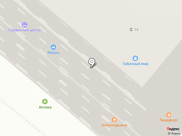 Ланкорини на карте Москвы