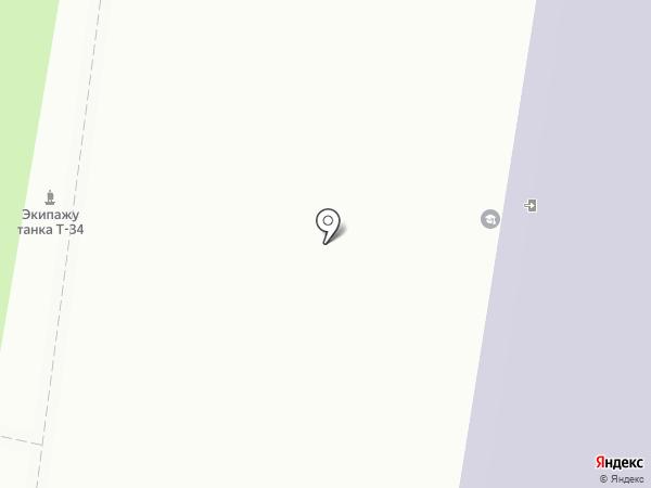 Тульский государственный педагогический университет им. Л.Н. Толстого на карте Тулы