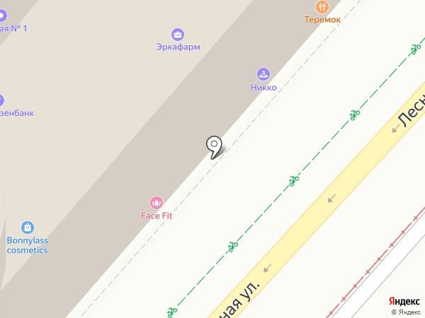 Диванчист на карте Москвы