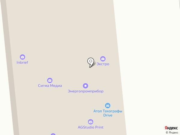 Гонец на карте Москвы