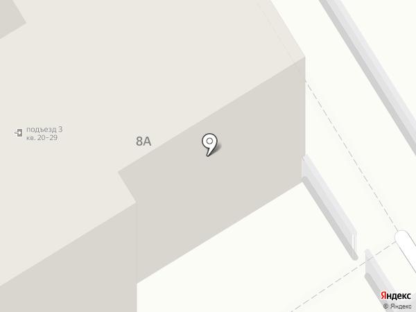 Арт материалы на карте Москвы