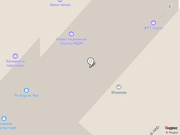 Семейные адвокаты и юристы на карте Москвы