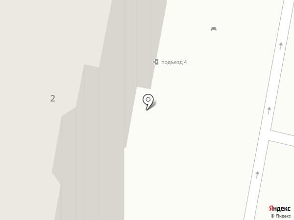 Меридиан на карте Бутово