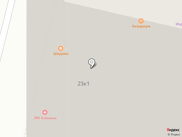 Цветочный магазин на карте Бутово