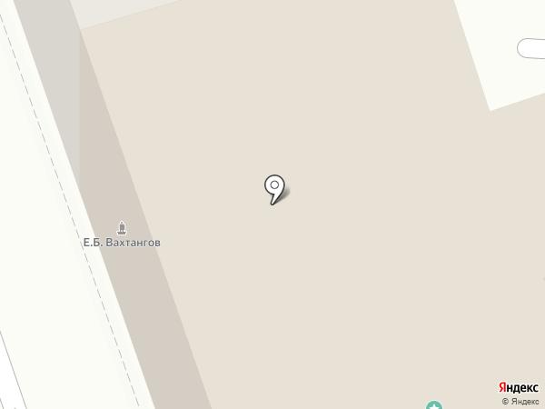 Музей-квартира им. Е. Вахтангова на карте Москвы