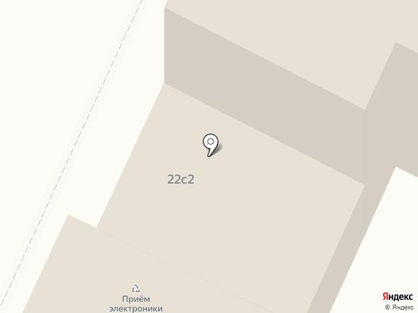 Brand-Studio №1 на карте Москвы