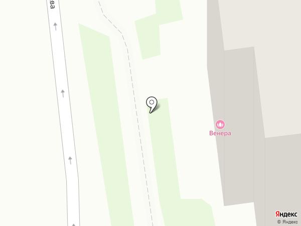 Венера на карте Тулы