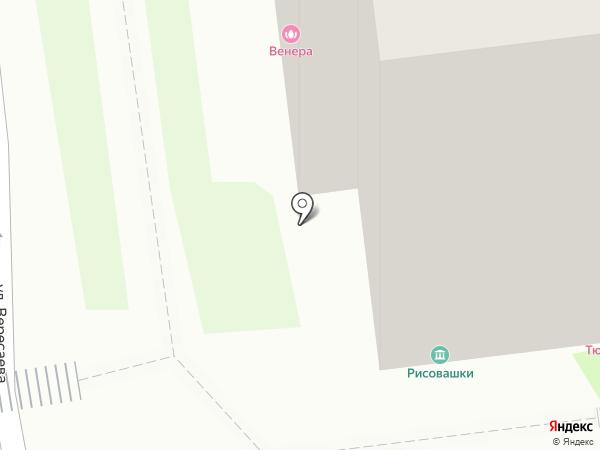 Тюльпан на карте Тулы